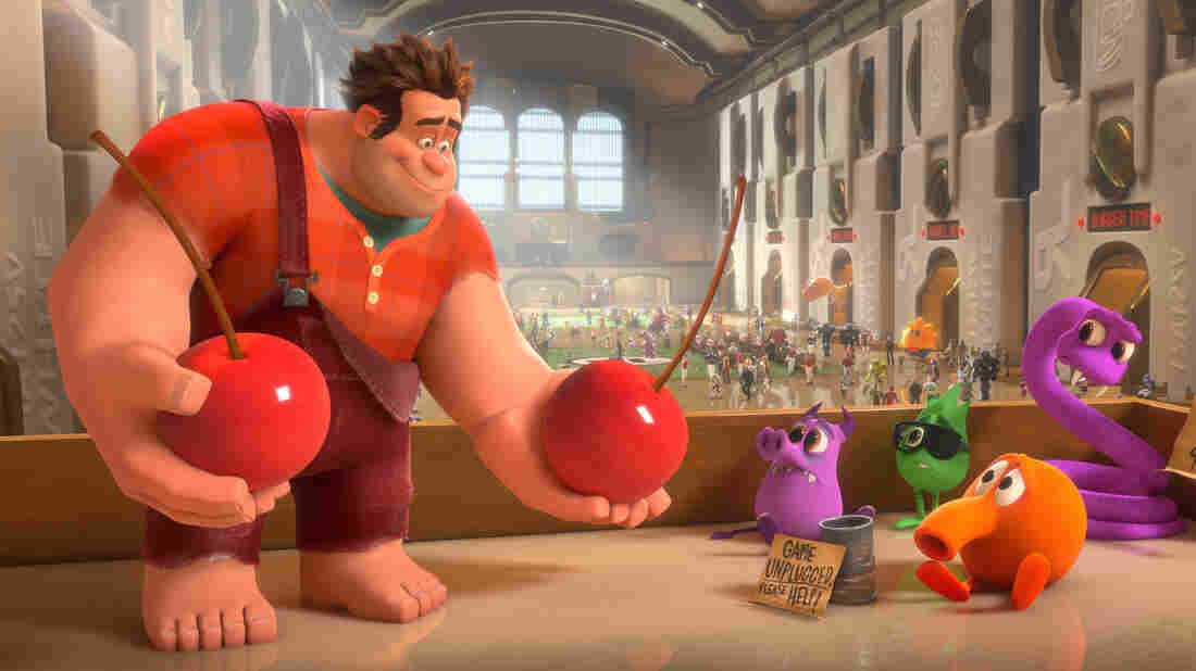"Wreck-It Ralph (John C. Reilly) grows tired of being overshadowed by Fix-It Felix Jr., the ""good guy"" star of their game, and sets off on a quest to prove he's got what it takes to be a hero."