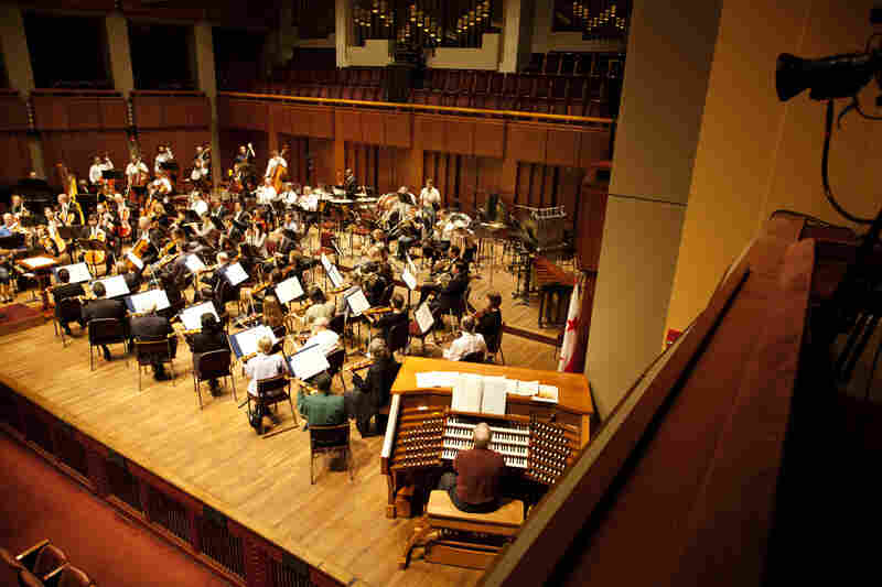 A concert hall organ has to have the right balance — powerful enough to be heard over the orchestra and chorus, but blending in like any another instrument.