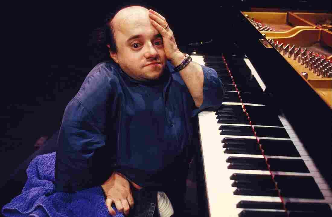 Michel Petrucciani on the concert stage in February 1993.