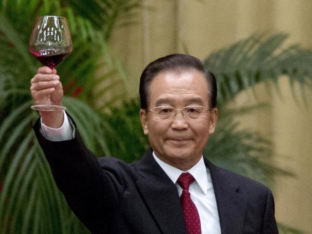 Chinese premier Wen Jiabao.