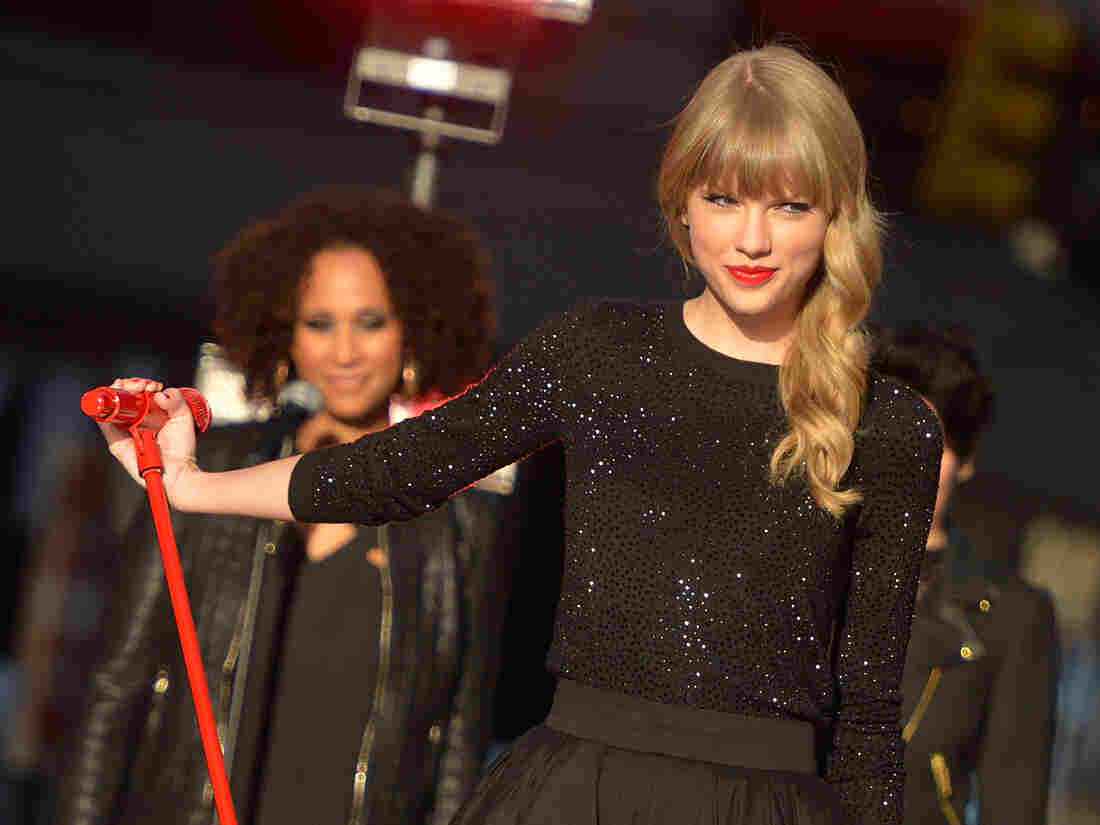 Taylor Swift performs on Good Morning America earlier this week. Her fourth album, Red, was released Monday.
