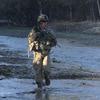 U.S. troops patrol in the Baraki Barak district of Logar province, Afghanistan.