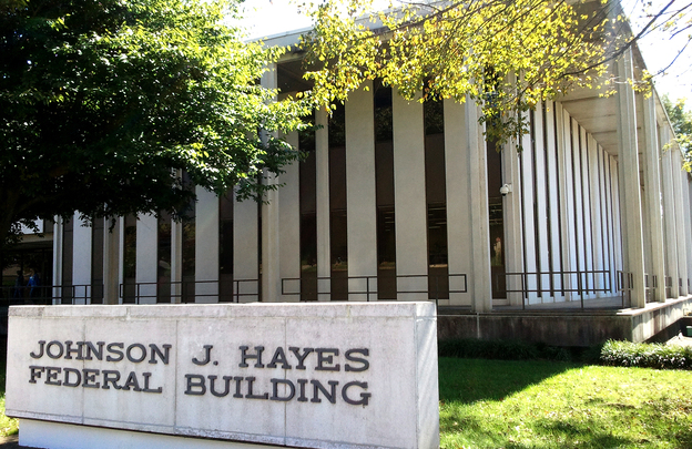 The John B. Hayes Federal Building in Wilkesboro, N.C., is among several federal courthouses being closed in the South.