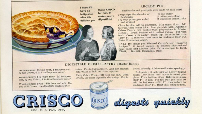 She pur crisco on her asshole