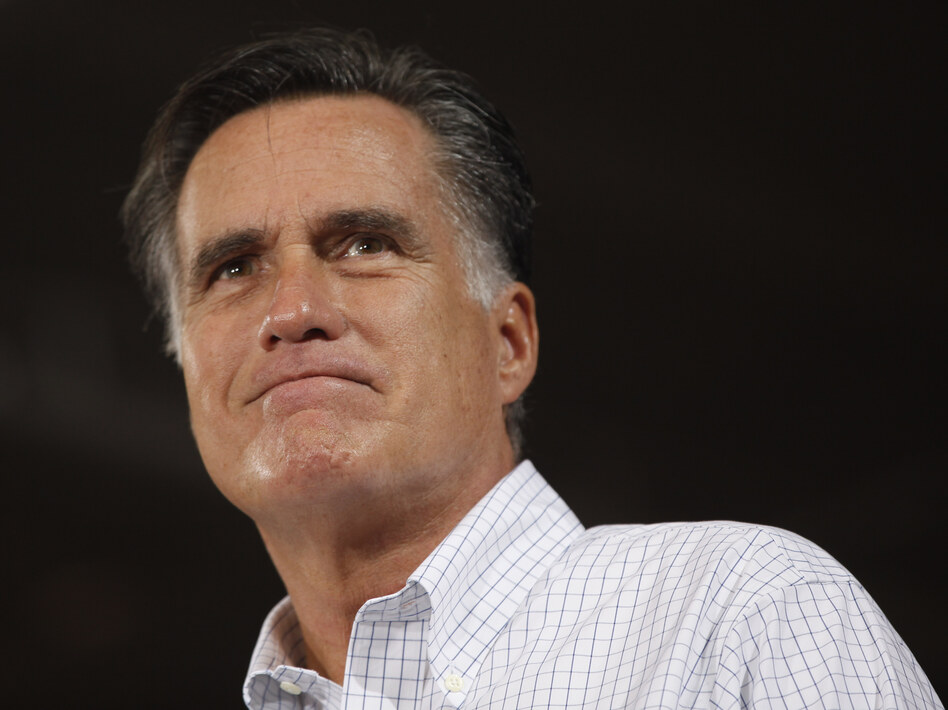 Mitt Romney at a campaign stop Monday in Avon Lake, Ohio. (AP)