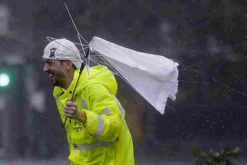 Hurricane Isaac wins in New Orleans, 2012.