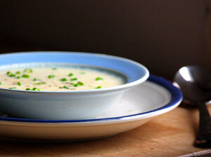 egg soups, hurricane sandy, food without power, easy soups