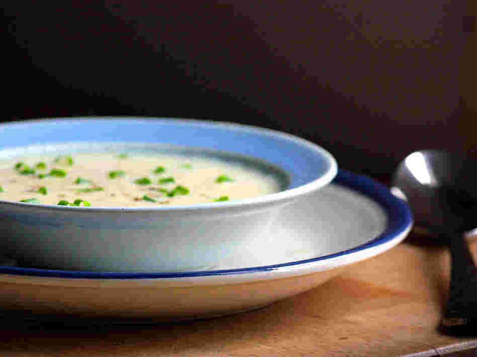 Double Lemon Avgolemono Soup