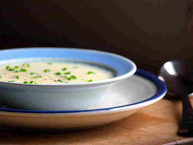 Double Lemon Avgolemono Soup