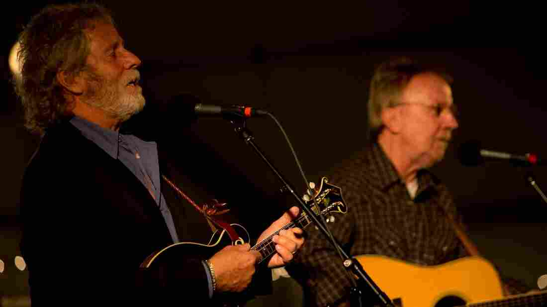 Chris Hillman and Herb Pedersen.