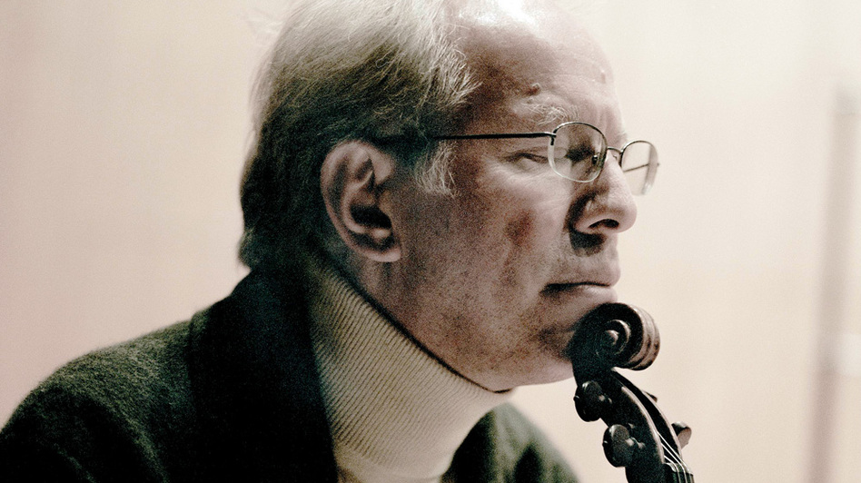 For violinist Gidon Kremer's new album, he commissioned 11 composers to rework and build on keyboard music by J.S. Bach. (Courtesy of ECM records)