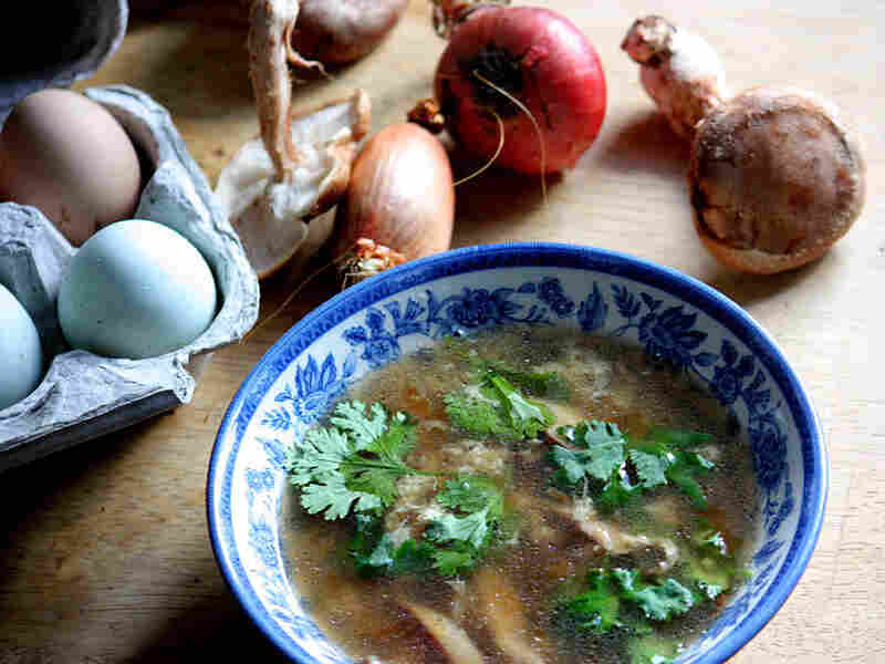 Not My Mother's Egg Drop Soup