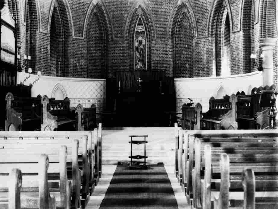 Organ music: inherently spooky? This one is in St. James' Cathedral of Townsville, Australia, ca. 1902.