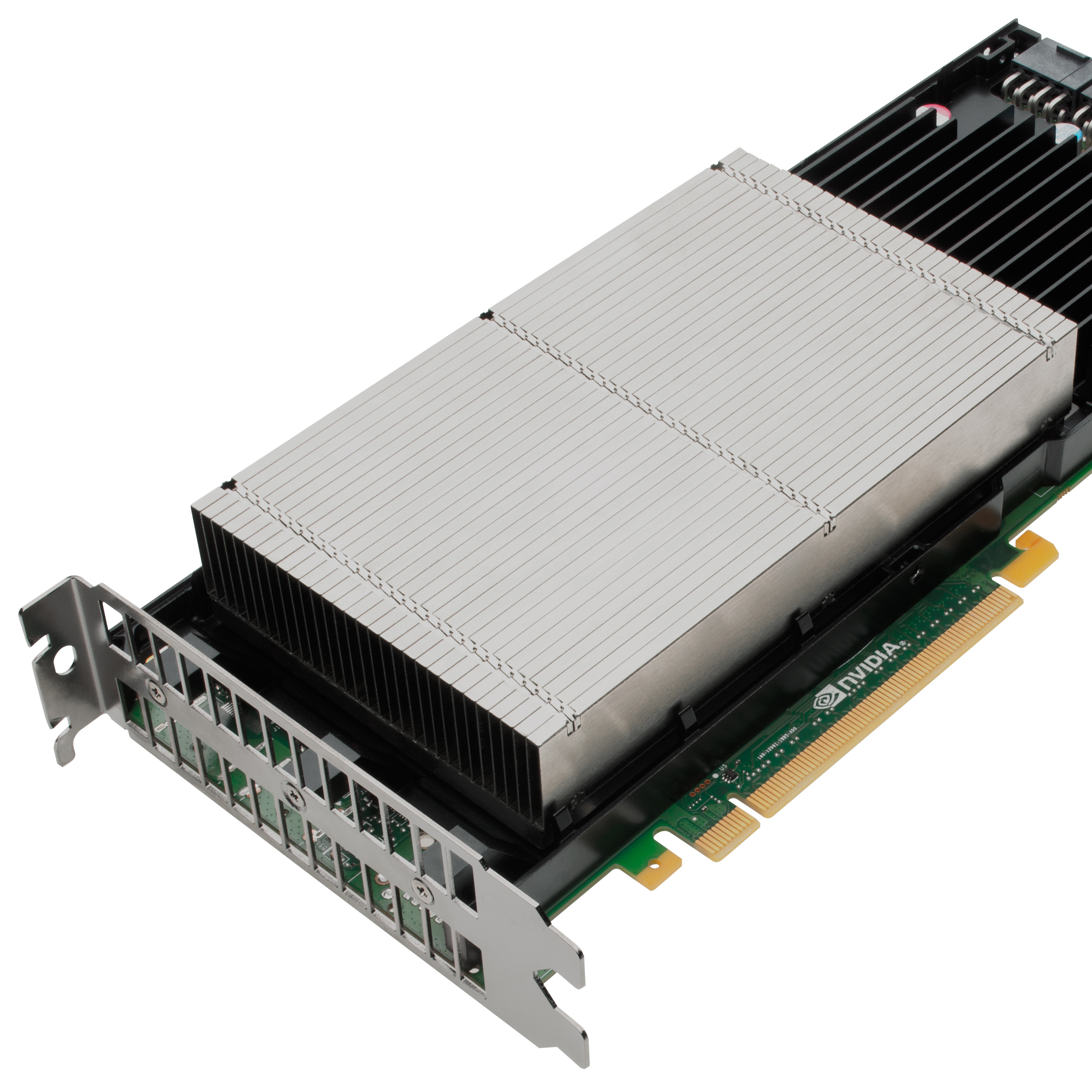 The Nvidia Tesla K20 GPU Accelerator powers the new Titan supercomputer. Its design is based on chips built for gaming.