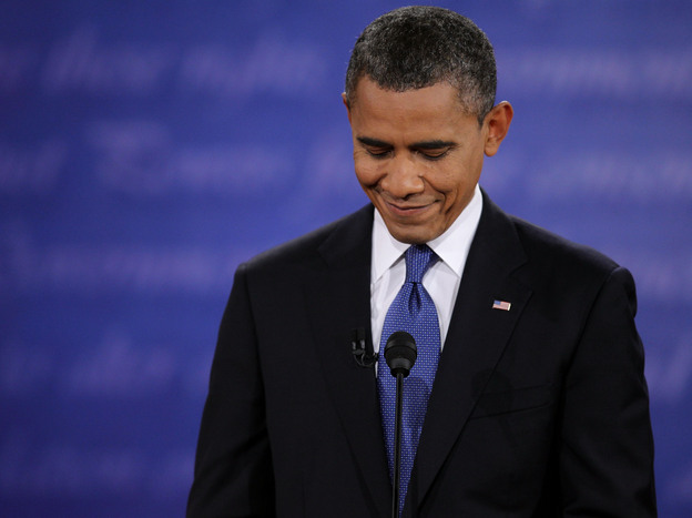 President Obama's performance in the first presidential debate cost him a lot.