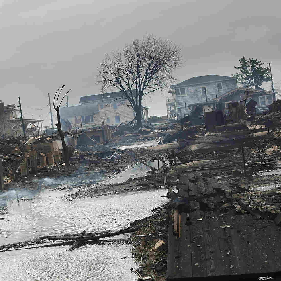 Superstorm Sandy: A Voice From The Breezy Point, N.Y., Fire