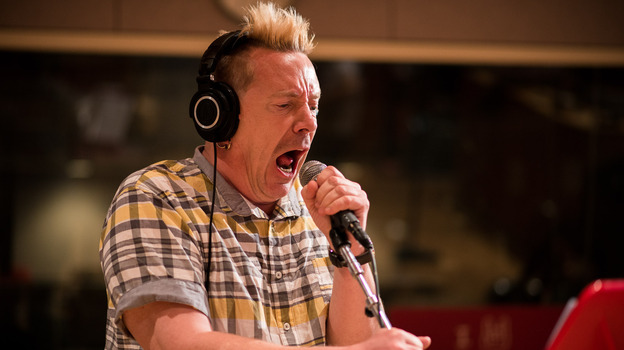 John Lydon brought his PiL project to The Current's studios.