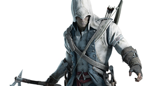 An artist's rendering of Connor, the Mohawk protagonist in Assassin's Creed III.