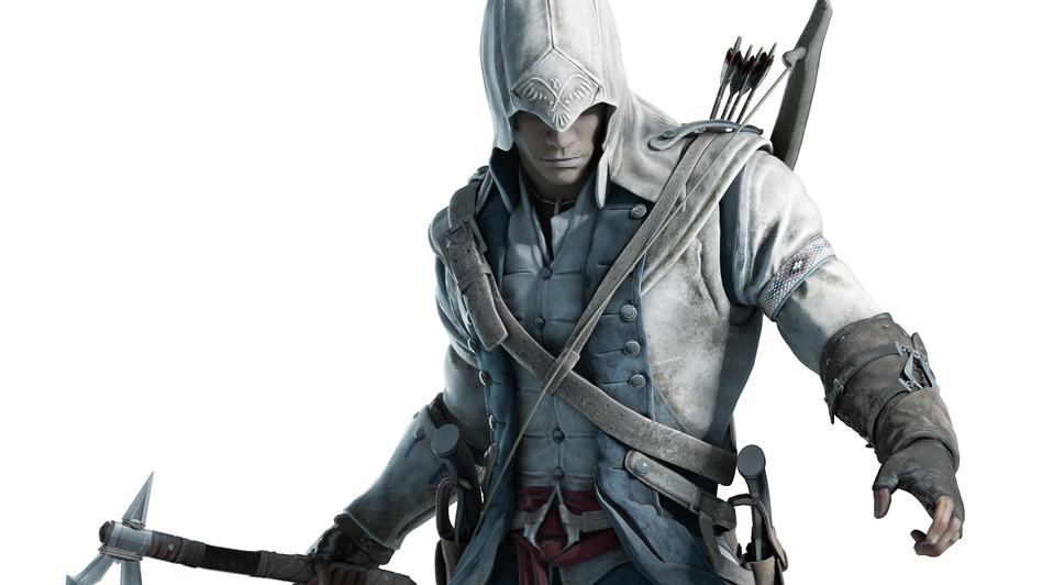 An artist's rendering of Connor, the Mohawk protagonist in Assassin's Creed III. (Courtesy of Ubisoft)