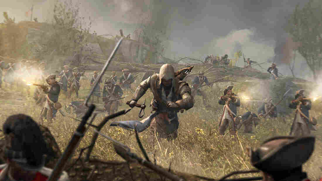 For the latest installment of Ubisoft's Assassin's Creed series, set in Colonial America, the hooded main character is part Mohawk. The company brought in a Mohawk consultant and hired a Native actor to play the role.