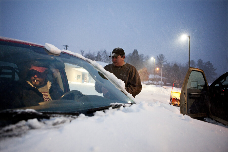 As Sandy's Snow Buries W.Va. Town, 'Everybody Just Pitches In ...