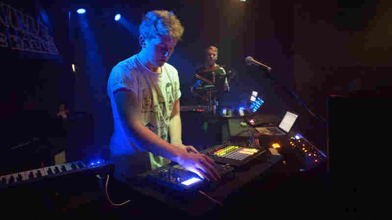 Disclosure performs live at Moogfest 2012.