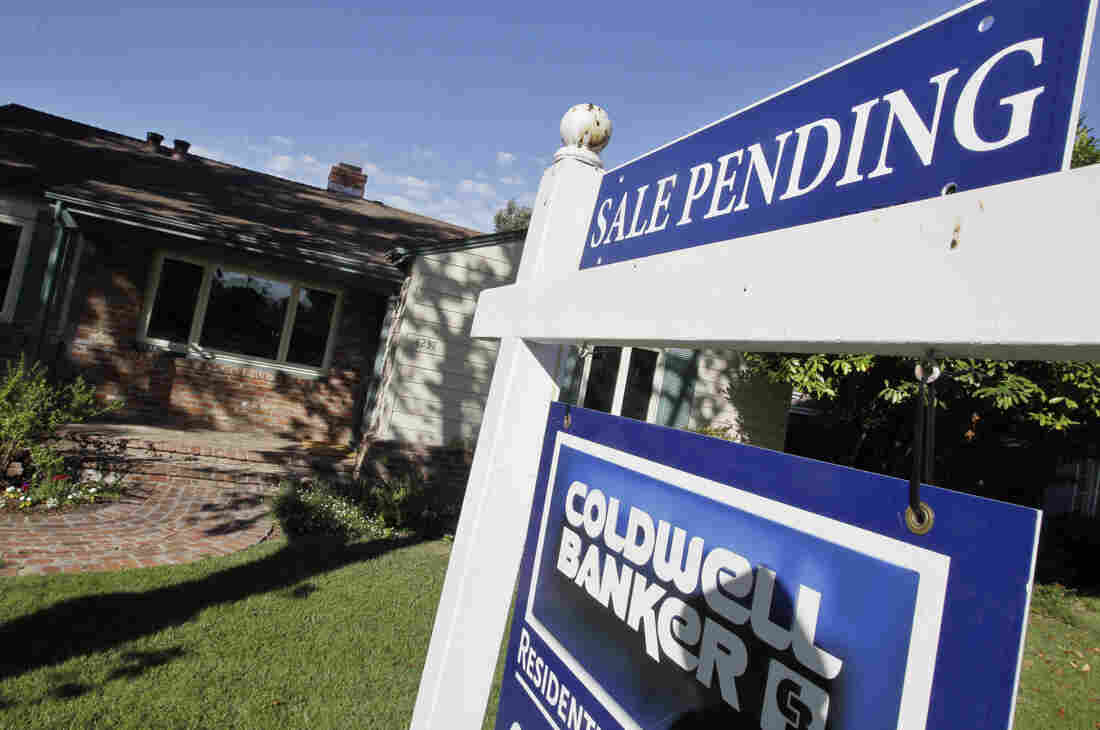 A pending home sale in Palo Alto, Calif. on Aug. 21, 2012.