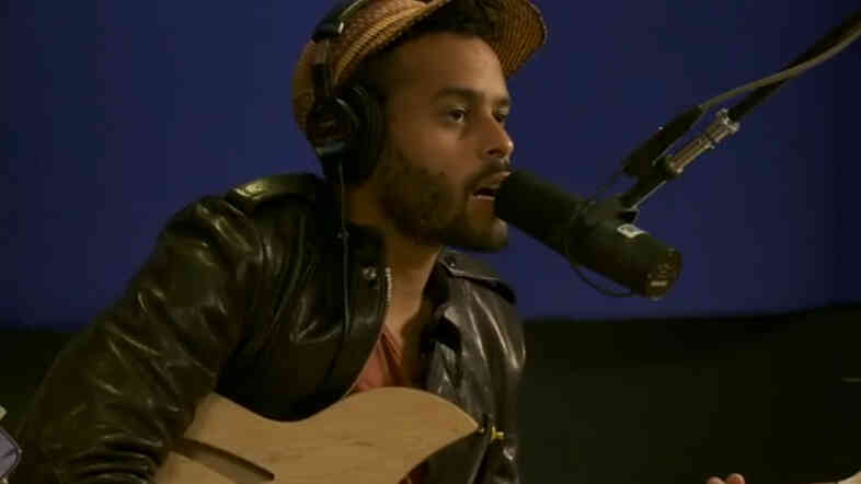 Twin Shadow performs at KCRW.