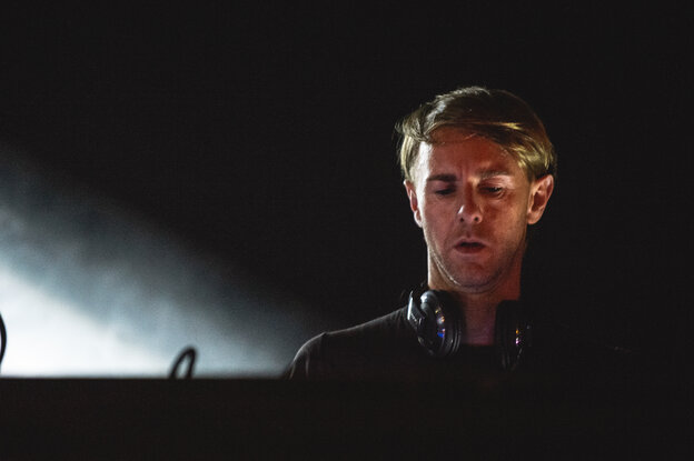 Richie Hawtin performs live at Moogfest 2012.