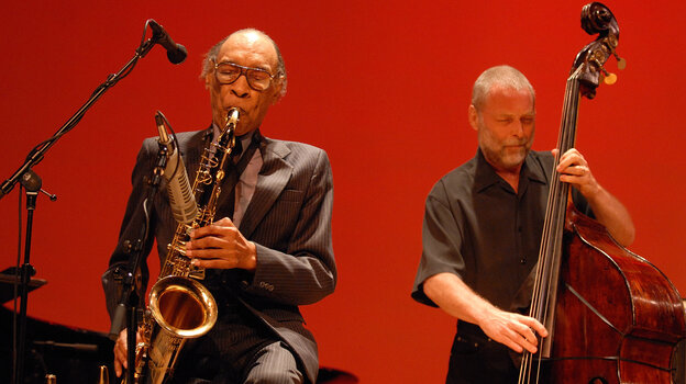 Sam Rivers' trio with Dave Holland and Barry Altschul (not pictured) recently released its 2007 reunion show on CD.