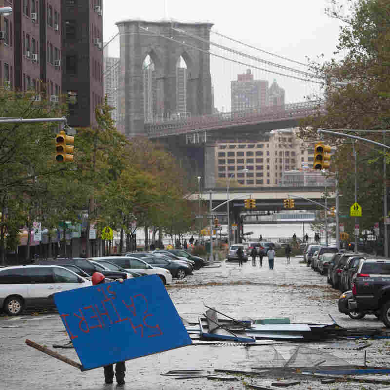 PHOTOS: The Day After Superstorm Sandy