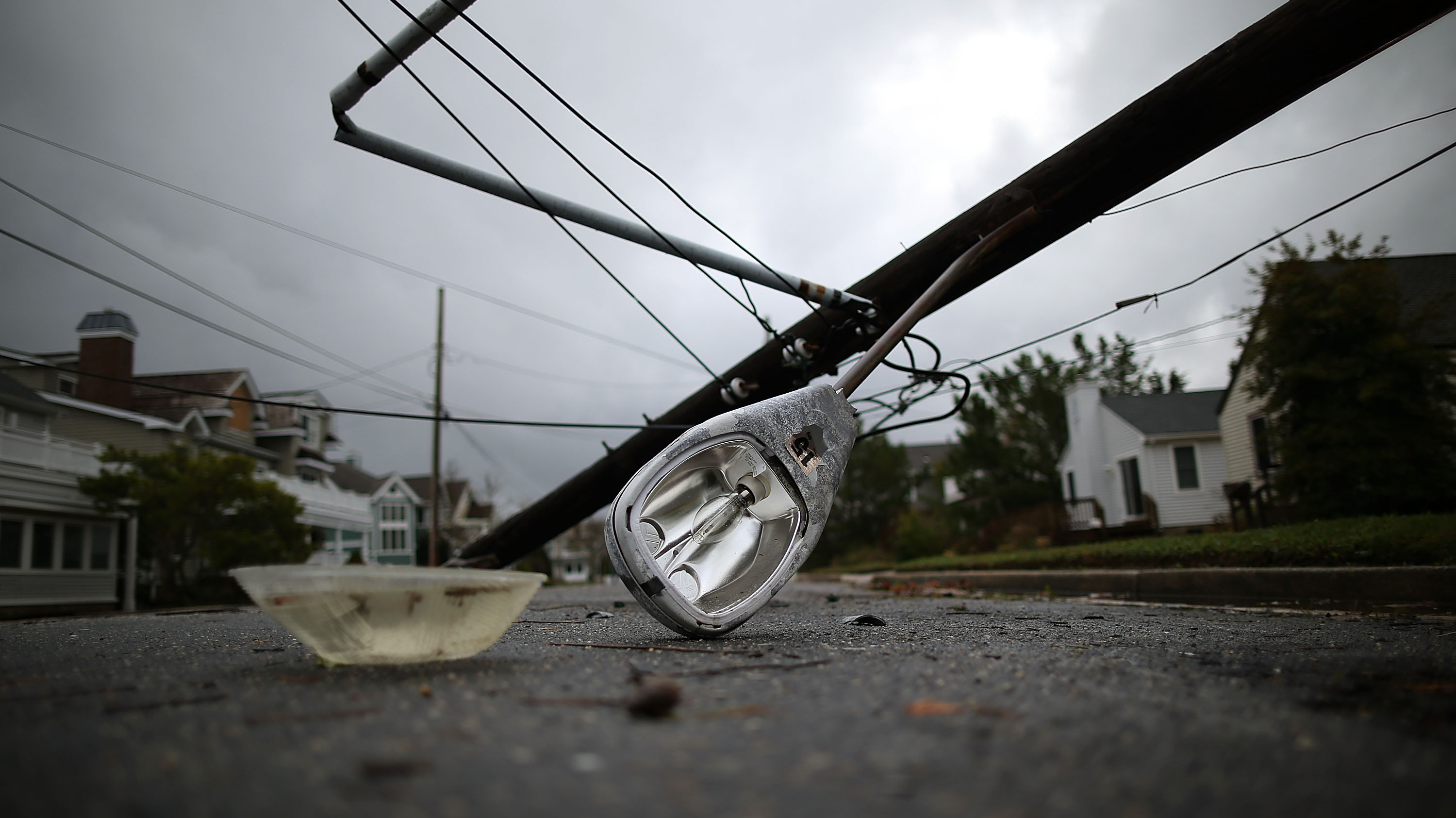 Superstorm Shines A Light On Power Grid Vulnerabilities : The Two Way : NPR