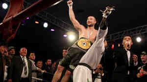Kabul native Hamid Rahimi defeated Tanzania's Said Mbelwa by technical knockout in the seventh round on Tuesday to claim the World Boxing Organization's Intercontinental Middleweight Championship before an enthusiastic crowd in the Afghan capital.