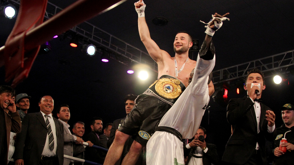 Kabul native Hamid Rahimi defeated Tanzania's Said Mbelwa by technical knockout in the seventh round on Tuesday to claim the World Boxing Organization's Intercontinental Middleweight Championship before an enthusiastic crowd in the Afghan capital. (NPR)