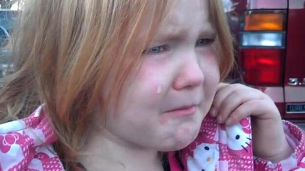 "We can sympathize, Abigael. She's tired of hearing about ""Bronco Bamma and Mitt Romney."" (YouTube)"