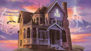 The Stauf mansion, as featured in the updated version of The 7th Guest.