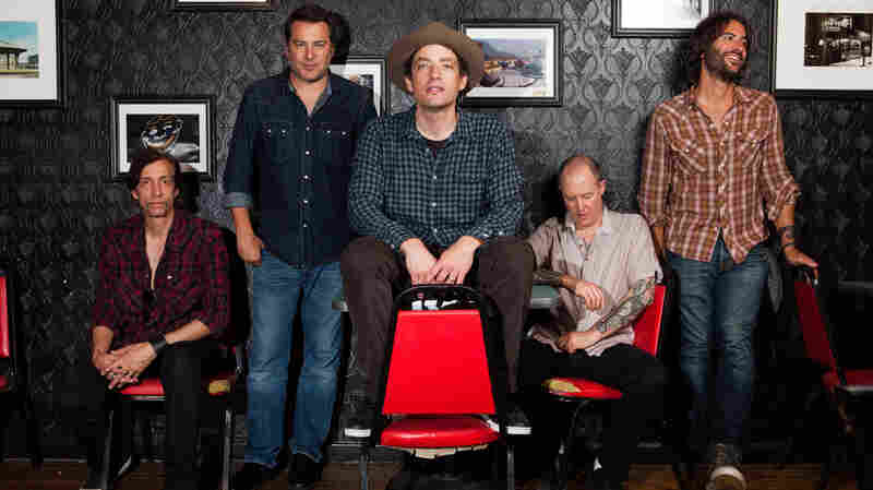 Jakob Dylan and his Wallflowers sat down with David Dye on World Cafe.