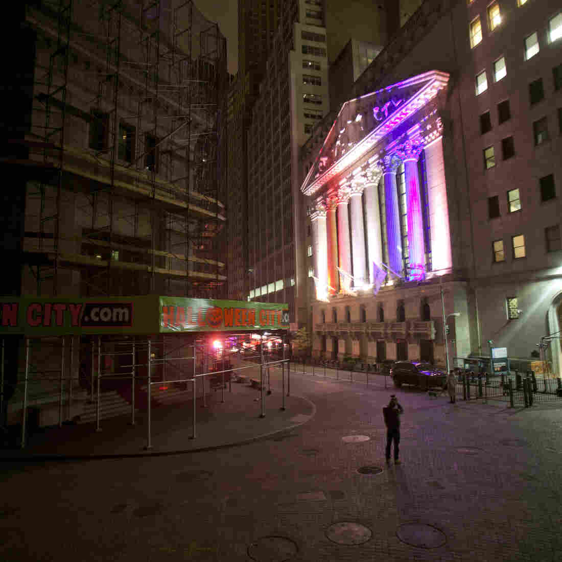 Photos: Halloween On Wall Street, 2012