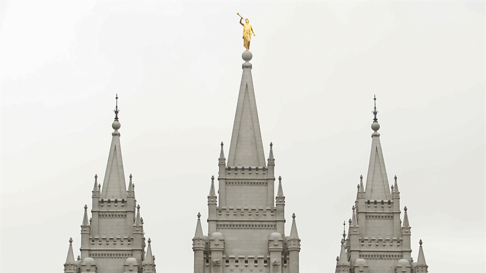The Mormon Salt Lake temple in Salt Lake City. (Getty Images)