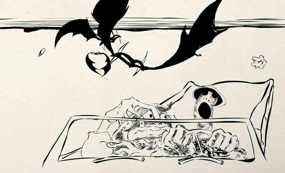 Among his many accomplishments, Ralph Steadman illustrated Hu