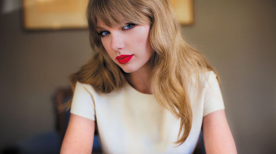 Taylor Swift's fourth studio album, Red, sold 1.2 million copies in its first week — the highest first-week sales total in a decade. (Courtesy of the artist)
