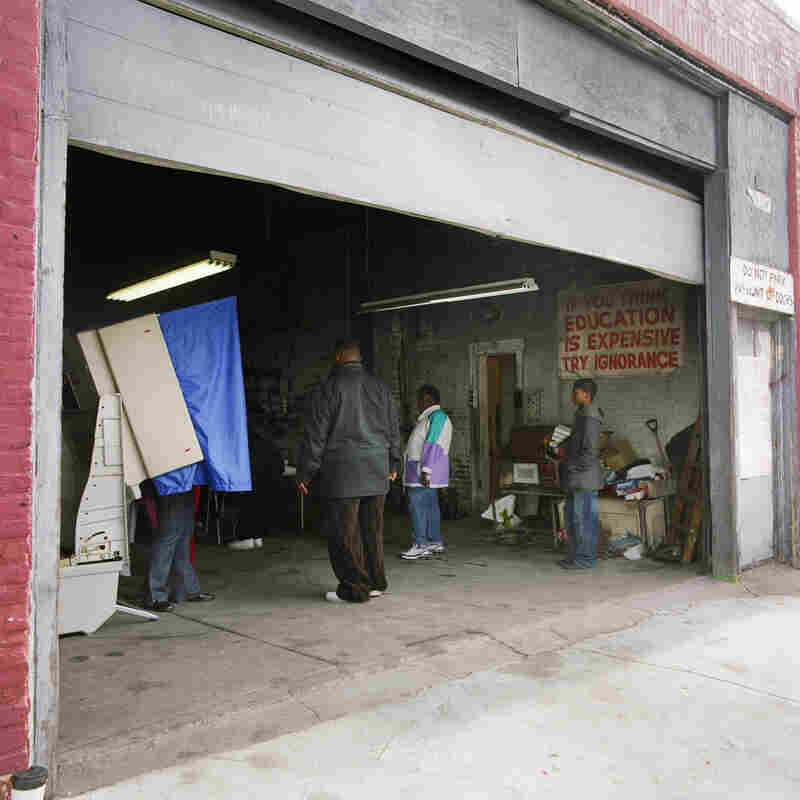 Auto repair shop, Philadelphia, Nov. 4, 2008