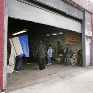 Auto repair shop, Philadelphia, Nov. 4, 2008
