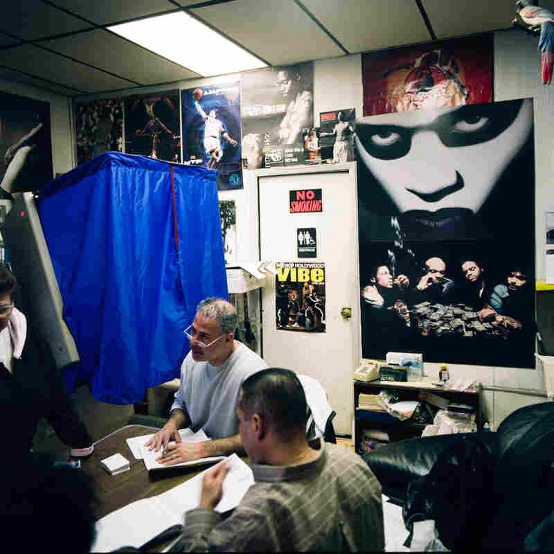 Barber shop, Philadelphia, Nov. 4, 2008