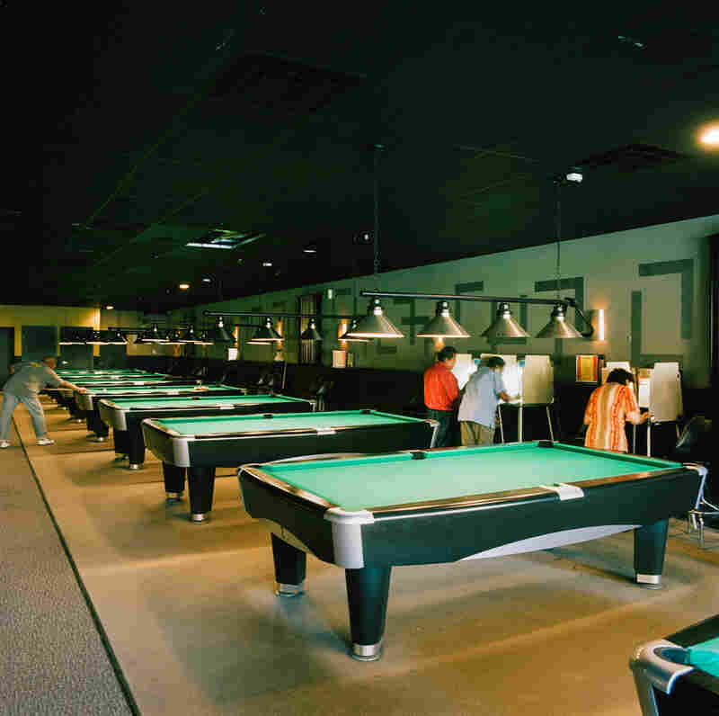 Pool hall and bar, Chicago, March 20, 2012