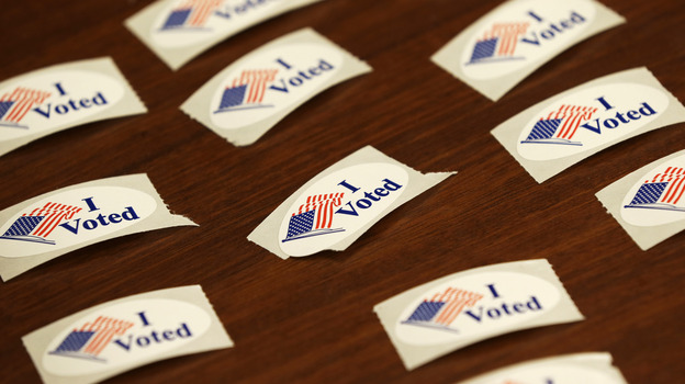 More than half a million Iowans had already voted as of Thursday — a new record. (AP)