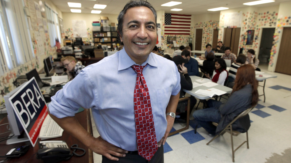 Democrat Ami Bera is challenging Lungren. Bera ran against Lungren in 2004 and lost, but since the district was redrawn, the race has become competitive. (AP)