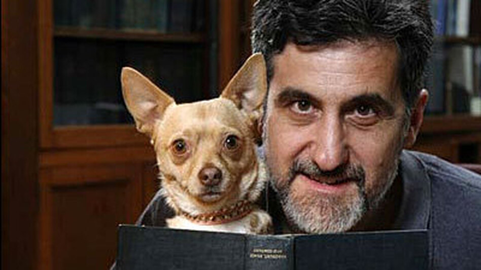 Bill Berloni was responsible for making sure that chihuahua Bruiser could both bend and snap in the Broadway production of Legally Blonde. (Paul Kolnik)