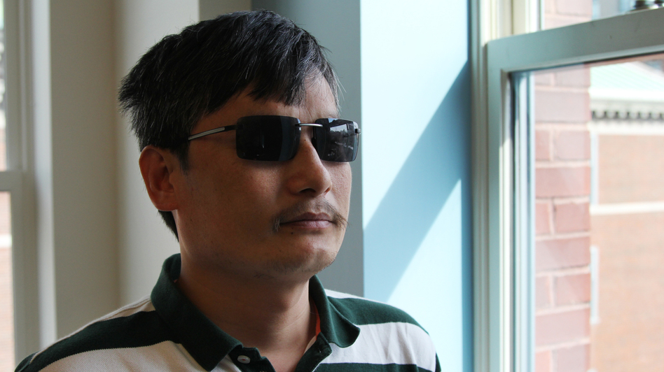 Chen Guangcheng, a blind Chinese lawyer, made international headlines when he escaped house arrest in April. Now at New York University, he believes changes to China's legal system are inevitable. (NPR)