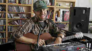 Jason Lytle performs a Tiny Desk Concert on Sept. 28.